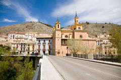 Virgin of light church, Cuenca Royalty Free Stock Photo