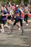 Virgin London marathon. A group of male runners  at London marathon 2010 Stock Images