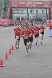Virgin London Marathon 2011. London, UK. 17/04/2011 Royalty Free Stock Images