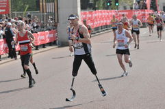 Virgin London Marathon 2011 Royalty Free Stock Photo