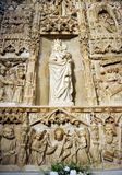 Virgin of Loreto in the church of San Pedro in Ciudad Real, Spain Royalty Free Stock Images