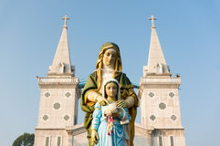 Virgin Maria and son Royalty Free Stock Images
