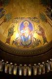 Virgin Mary και apse παιδιών Χριστού μωσαϊκό Στοκ φωτογραφίες με δικαίωμα ελεύθερης χρήσης