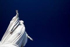 Virgin Mary. Holy Virgin Mary (Virgen Maria) monument Cerro San Cristobal, Santiago de Chile Royalty Free Stock Images