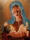 Virgin Mary Foto de Stock Royalty Free