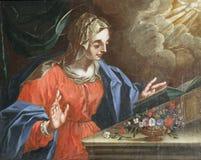 Virgin Mary, Annunciation Στοκ Εικόνες