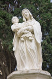 Virgin Mary and baby Jesus. Statue of Virgin Mary and baby Jesus, Malta Stock Image