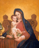 Virgin Mary with baby Jesus Royalty Free Stock Photo
