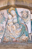 Virgin Mary with baby Jesus Royalty Free Stock Images