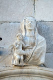 Virgin Mary with baby Jesus Stock Photo