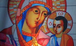 Virgin Mary and child Jesus Royalty Free Stock Images