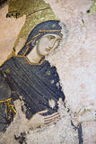 Virgin Mary, Chora Church, Istanbul, Turkey Royalty Free Stock Photo