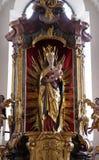 Virgin Mary con il bambino Jesus Fotografia Stock