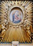 Virgin Mary con il bambino Jesus Fotografie Stock Libere da Diritti
