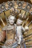 Virgin Mary con il bambino Jesus Immagini Stock