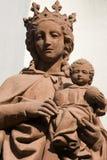 Virgin Mary e bambino Immagini Stock