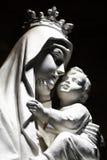 Virgin Mary e criança fotografia de stock