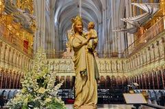 Virgin Mary e Gesù Cristo fotografia stock
