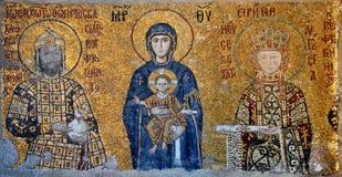Virgin Mary ed il bambino Immagine Stock