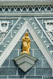 Virgin Mary front the church of Christ Royalty Free Stock Photo