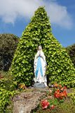 Virgin Mary Grotto Stock Image