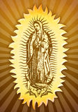 Virgin mary of Guadalupe Stock Photos