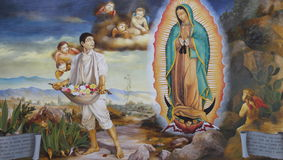 Virgin Mary Guadalupe I Royalty Free Stock Photography