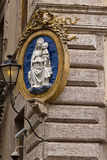 Virgin Mary house protection Royalty Free Stock Photo