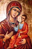 The Virgin Mary Icon Royalty Free Stock Photography