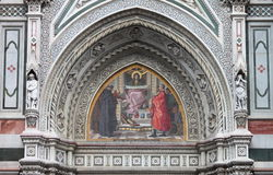 Virgin Mary mosaic Royalty Free Stock Photo