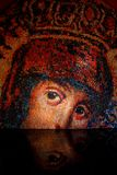Virgin Mary Mosaic Imagem de Stock
