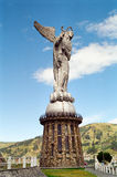 The Virgin Mary of Quito statue, Ecuador. The Virgin of Quito statue on Panecillo Hill,Quito, Ecuador stock images
