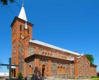Virgin Mary Roman Catholic Church. In Latvia Royalty Free Stock Photography