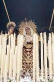 Virgin Mary and Saint John stock photo