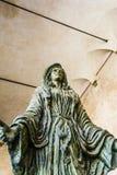 Virgin Mary Sculpture - Capitello della donazione Stock Images