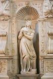 Virgin Mary Sculpture - Vaticano, Itália imagens de stock royalty free