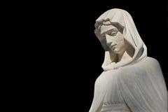 Virgin Mary in sorrow Stock Photography