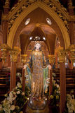 Virgin Mary Statue Stock Images