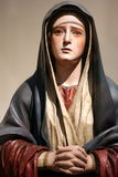 Virgin Mary Statue Stock Photo