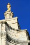 Virgin Mary statue in Avignon,  France Stock Photo