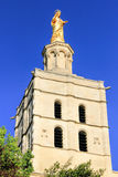 Virgin Mary statue in Avignon,  France Royalty Free Stock Photos
