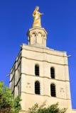 Virgin Mary statue in Avignon,  France Royalty Free Stock Photos
