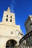 Virgin Mary statue in Avignon,  France Royalty Free Stock Image