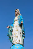 Virgin mary statue. Royalty Free Stock Images