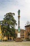 Virgin Mary statue in Bologna, Italy Royalty Free Stock Photo