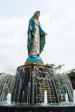 Virgin mary statue at Chatheday Chantaburi, Thailand. Stock Photography