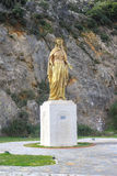 Virgin Mary statue in Ephesus Royalty Free Stock Image