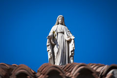 Virgin Mary statue Stock Image