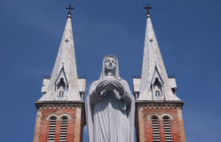 Virgin Mary Statue Stock Photos