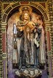 Virgin Mary Statue San Juan Bautista Church Avila Castile Spain Royalty Free Stock Photo